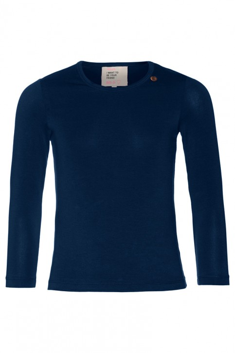 Mim-Pi Langarm-Shirt/Longsleeve dunkelblau
