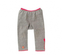 Mim-Pi Baby Basic-Legging grau