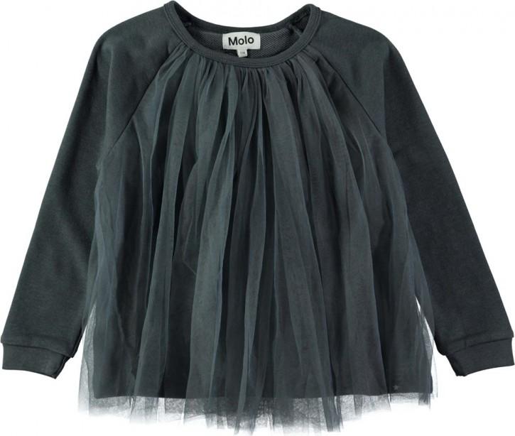 Molo Mädchen Sweat-Shirt/Langarm-Shirt MALLORIE dove grey