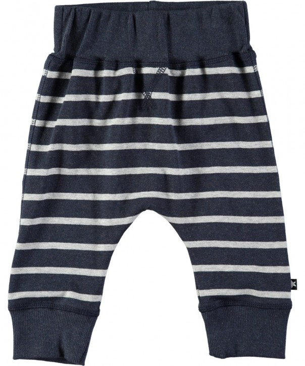 Molo Mini Jungen Sweat Hose SAMMY melange stripe