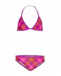 O´Neill Bikini pink Strip big karo