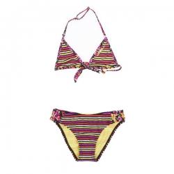 O´Neill Bikini M&M Triangle black Streifen