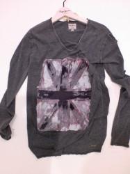Pepe Jeans London Langarm-Shirt/Longsleeve FANCY grey marl