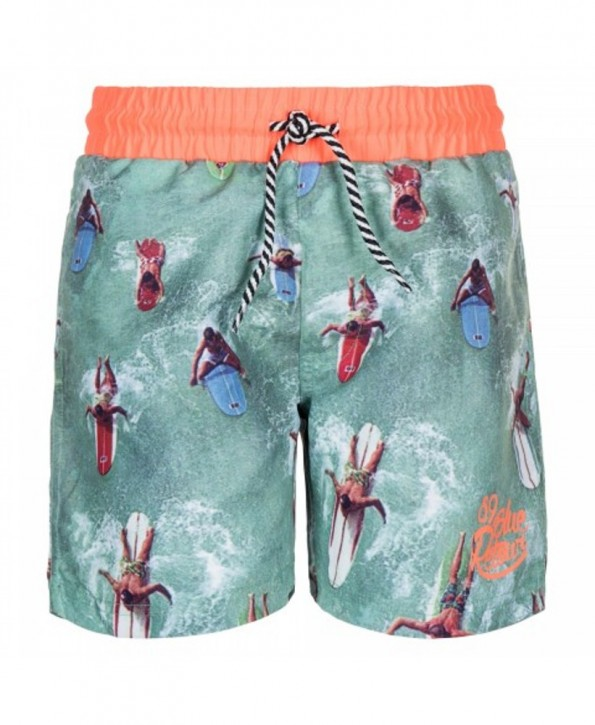 RETOUR DENIM Bade-Bermuda/Shorts TYSON green
