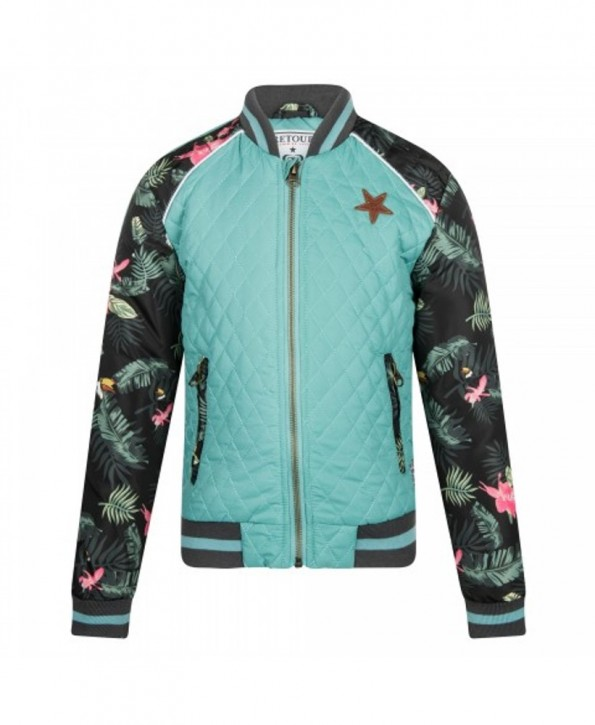 RETOUR DENIM College-Jacke NIRINA mint