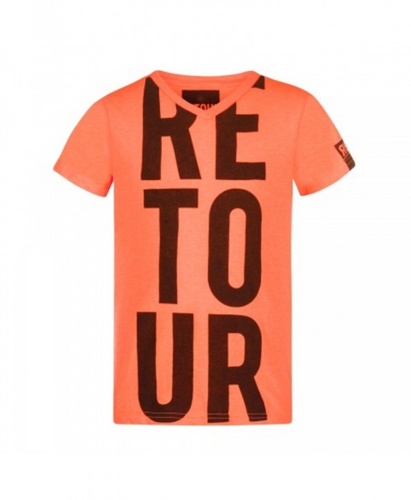 RETOUR DENIM T-Shirt JACCO neon orange
