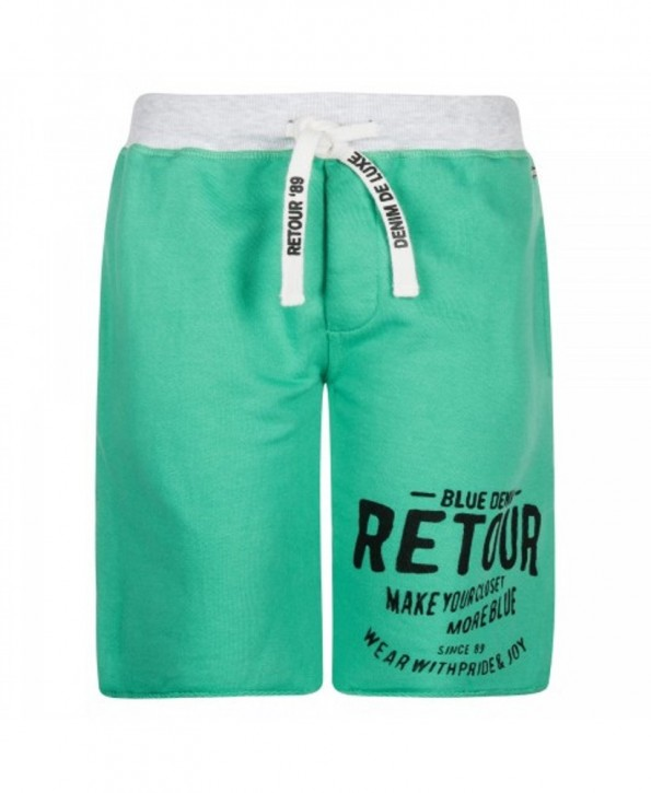 RETOUR DENIM Sweat-Bermuda MAXIM green