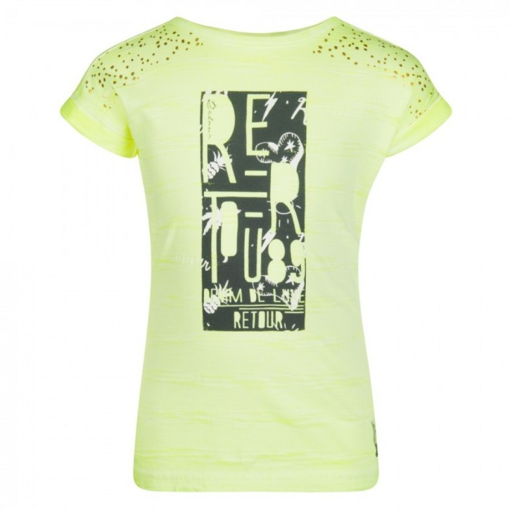 RETOUR DENIM T-Shirt JET neon yellow