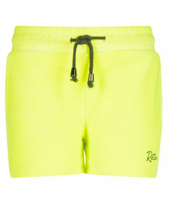 RETOUR DENIM Sweat-Shorts IRMA neon yellow