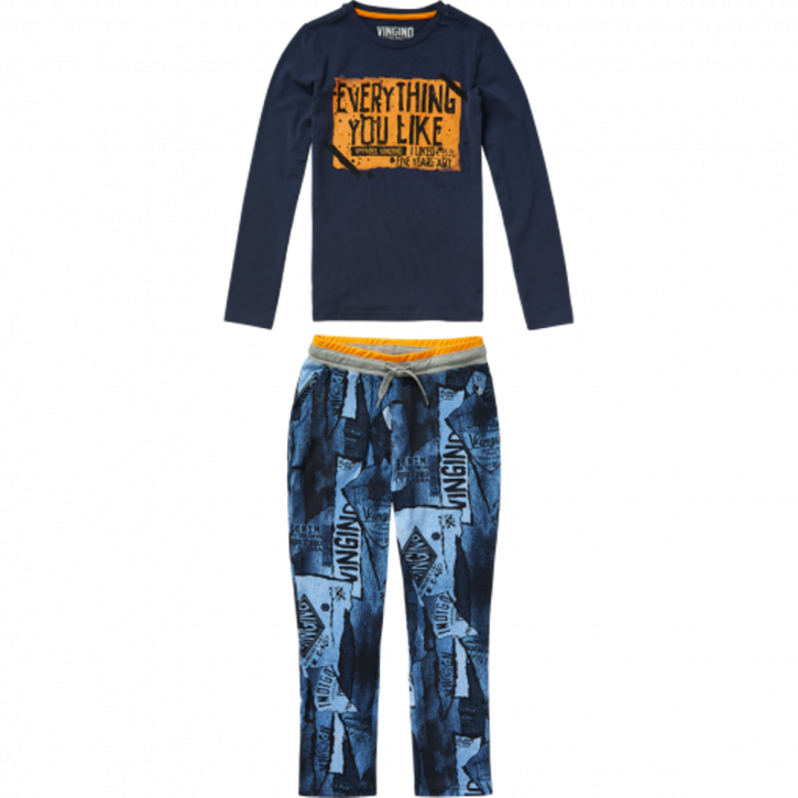 Vingino Schlafanzug/Pyjama WENZEL SET dark blue
