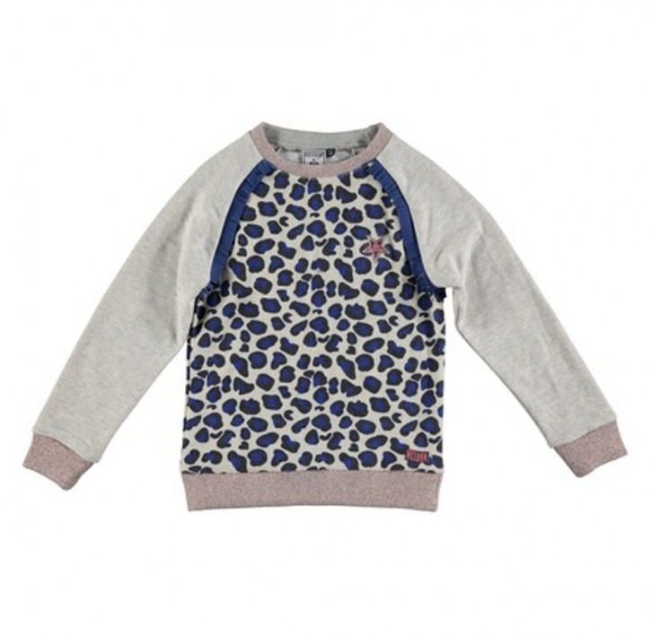 RETOUR Sweat-Shirt SOPHIE grey melange