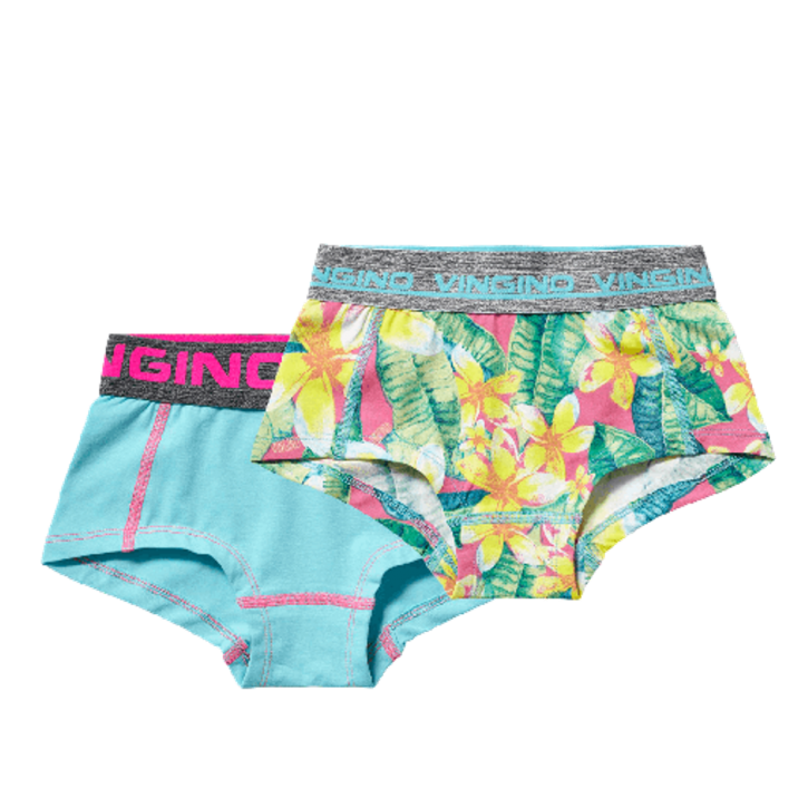 Vingino Hipster/Short 2er-Pack BONITA multicolor yellow