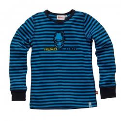 Lego Wear Longsleeve / Shirt Streifen navy-mittelblau
