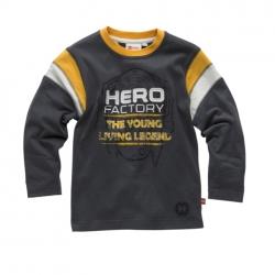 Lego Wear HERO FACTORY Langarmshirt dunkelgrau