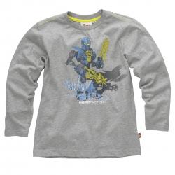 Lego Wear Kinder Shirt / Longsleeve hellgrau-melange