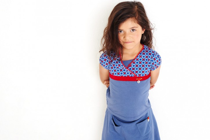 Mim-Pi T-Shirt rot-weiß-blau