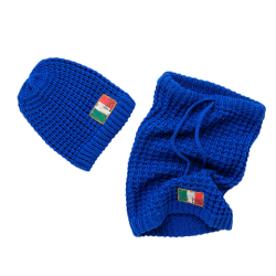 Vingino Set Mütze und Schlauch-Schal VENEZIO blue