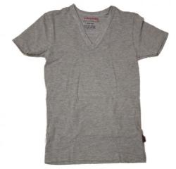 Vingino Basic-T-Shirt V-NECK grau