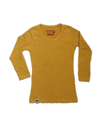 Vingino Basic-Langarm-Shirt/Longsleeve KASSANDRA old yellow