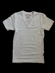 Vingino Basic-T-Shirt V-NECK weiß