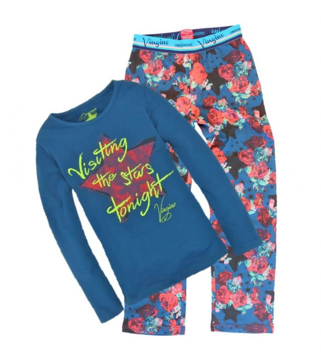 Vingino Schlafanzug/Pyjama WHOSA navy