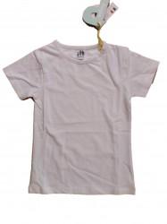 Paglie Basic T-Shirt weiß
