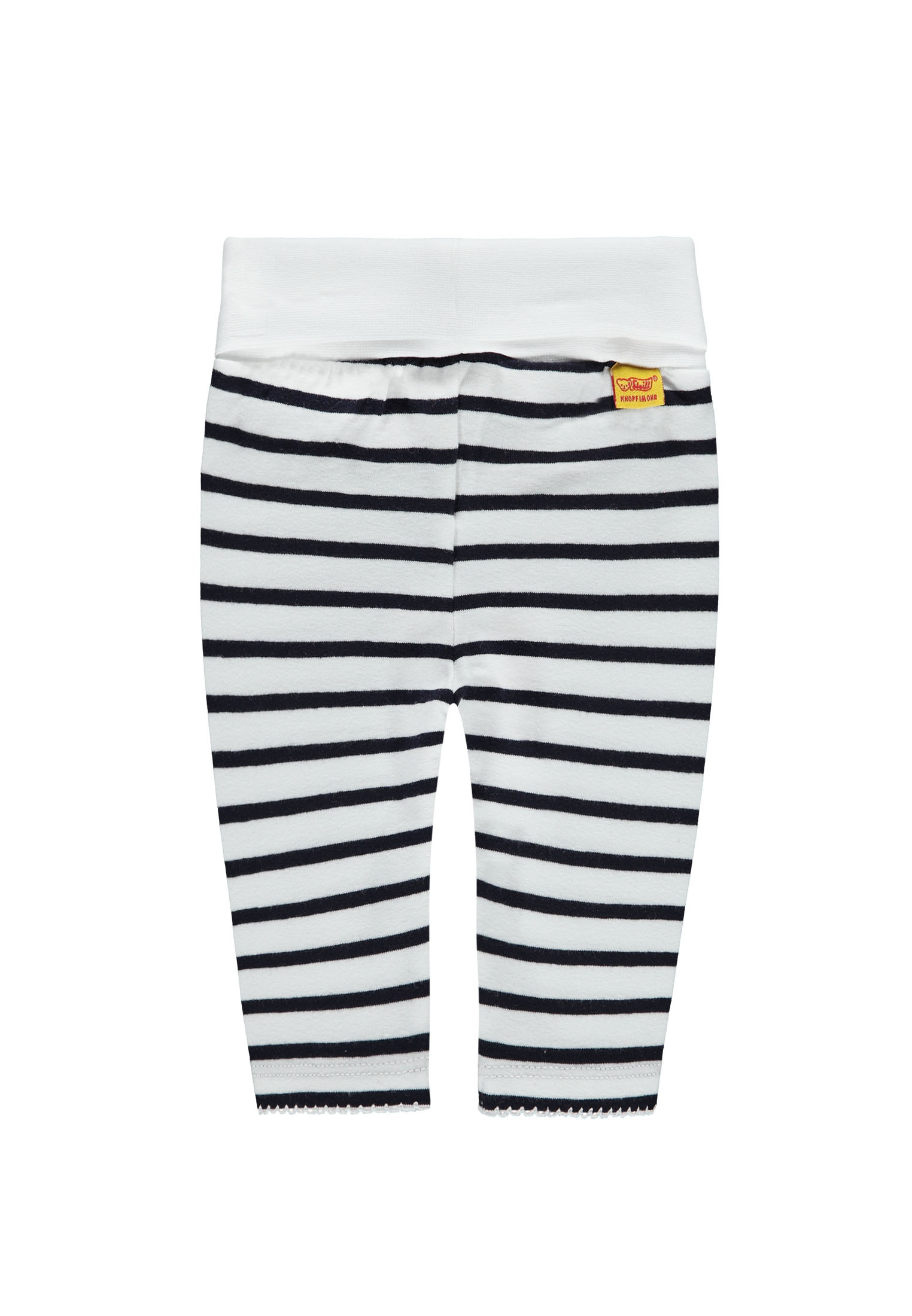 Steiff 2teiliges Set Mädchen Langarmshirt /& Legging marine-weiss NEU