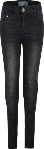 Blue Effect Mädchen High-Waist Jeans black soft used NORMAL