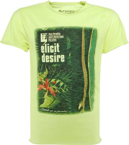 Blue Effect Jungen T-Shirt ELICIT DESIRE neon gelb