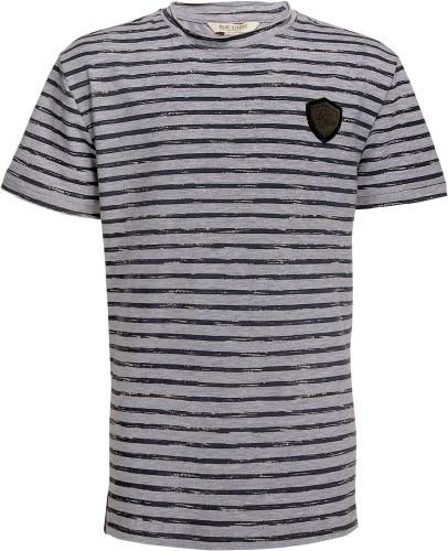 Blue Effect Jungen T-Shirt Streifen grau melange