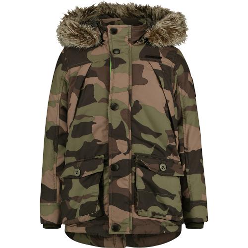 Vingino Winter-Jacke/Winter-Mantel mit Kapuze THIBAUT camouflage green