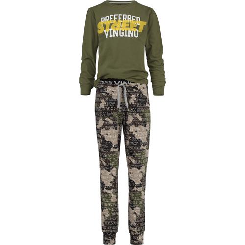 Vingino Schlafanzug/Pyjama WOLOF camouflage green