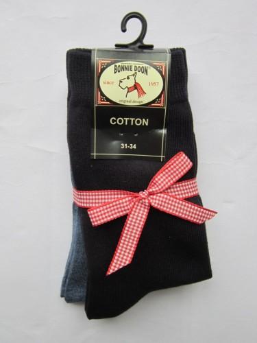 Bonnie Doon Socken 2er Pack denim heather/navy
