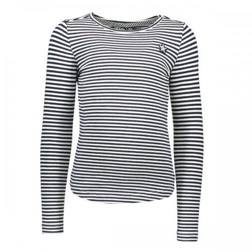 LIKE FLO Langarm-Shirt/Longsleeve Streifen offwhite navy