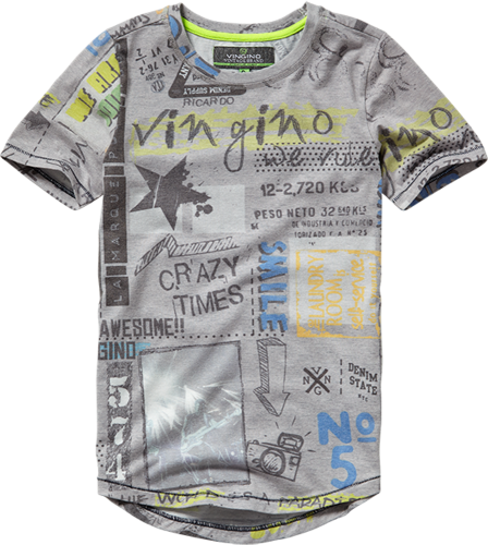 Vingino T-Shirt JANNES grey mele