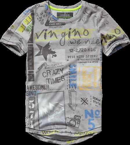Vingino T-Shirt JANNES grey mele