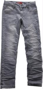 Blue Effect Mädchen Skinny Jeans 101 grau WEIT/COMFORT