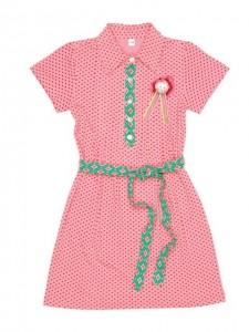 Mim-Pi Kleid Punkte rosa