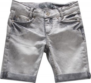 Blue Effect Mädchen Jeans-Bermuda grey denim light