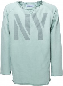 "Blue Effect Langarm-Shirt ""NY"" zinkgrün"