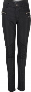 Blue Effect Mädchen Biker-Hose black coated SLIM