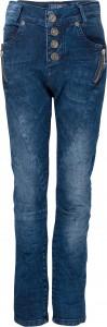 Blue Effect Mädchen Boyfriend Jeans Zipper blue denim