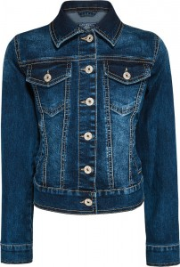 Blue Effect Mädchen Jeans-Jacke darkblue