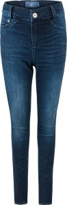 Blue Effect Mädchen High-Waist Jeans ultrastrech darkblue soft used SLIM