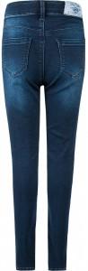 Blue Effect Mädchen High-Waist Jeans ultrastrech darkblue soft used SLIM