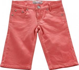 Blue Effect Jungen coloured Jeans-Bermuda lachsrot oil verlaufend