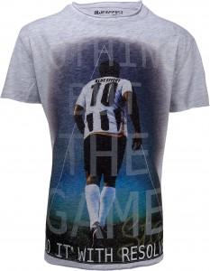 Blue Effect Jungen Fußball T-Shirt Print hellgrau