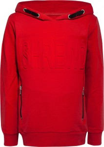 Blue Effect Kapuzen-Sweat-Shirt feuerrot