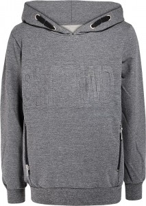 Blue Effect Kapuzen-Sweat-Shirt anthrazit melange