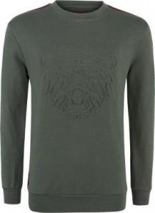 Blue Effect Jungen Sweat-Shirt/Sweater TIGERKOPF oliv 92 - 98